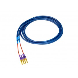 JPS LABS - ULTRACONDUCTOR 2 (GOLD 8MM.DUAL BIWIRE) (2.4M)