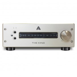 AUDEZE - THE KING Class-A Hybrid Tube/Mosfet Headphone Amplifier