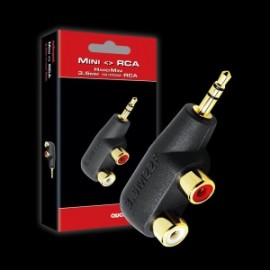 AudioQuest - Hard Mini 3.5mm to RCA