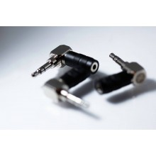 CROSS LAMBDA AUDIO - 2.5 mm TRRS to 3.5 TRS Adapter