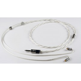 Double Helix Cables - DHC Clone Silver ultraportable 22awg OCC Pure Silver (Headphone or IEM)