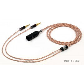 Double Helix Cables - DHC Molecule SE Headphone Cable - premium OCC copper litz