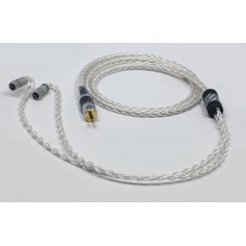Double Helix Cables - Symbiote Elite OCC Silver Litz IEM Cable for JH Sirens Series
