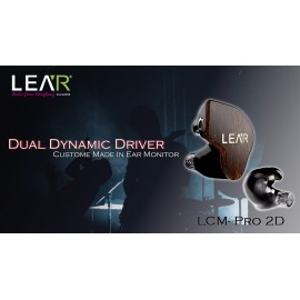 LEAR - PRO-2D Custom In-Ear Monitors