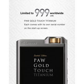 Lotoo - PAW Gold Touch Titanium Limited Edition (Pre-Order)