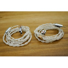PWaudio - Anniversary series No.10 4wire MMCX 3.5mm