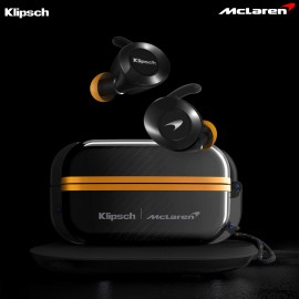 Klipsch - T5 II True Wireless Sport Earphones McLaren Edition